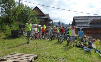 Nový cyklokemp v Rajeckej Lesnej